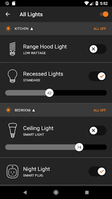 Brilliant - Smart Home Control screenshot 2
