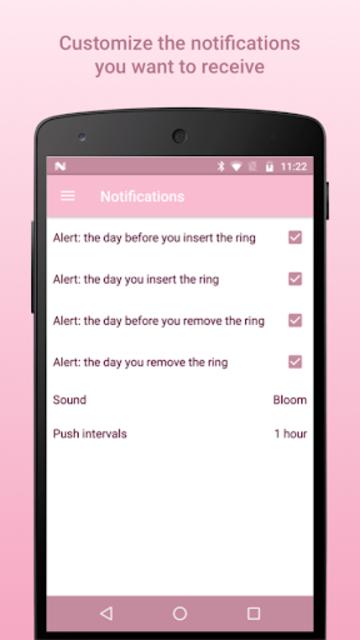 Nuva Ring Tracker Plus screenshot 4