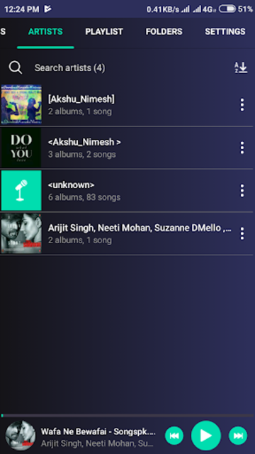 Music Player Pro / Unlimited Songs Play screenshot 2