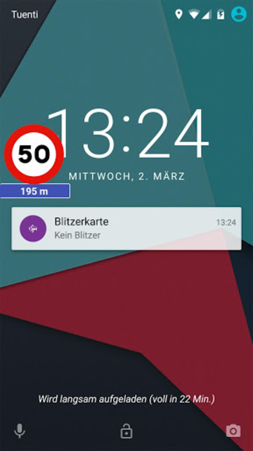 Speed cameras Widget screenshot 2