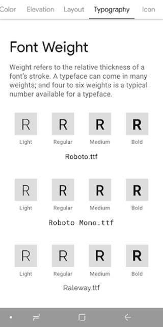 MATERIAL DESIGN screenshot 4