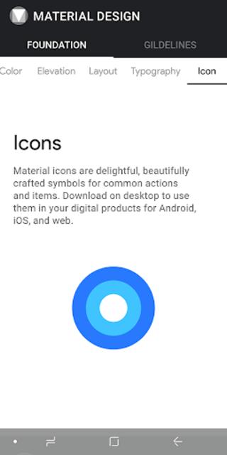MATERIAL DESIGN screenshot 5