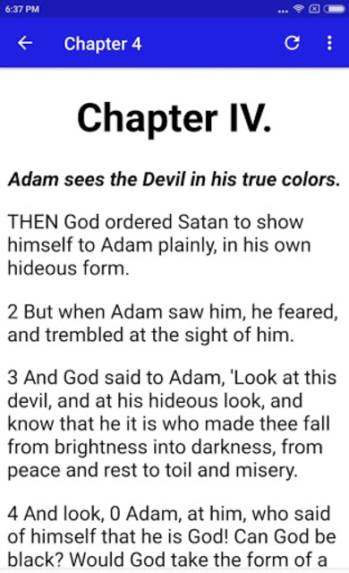 THE SECOND BOOK OF ADAM AND EVE PRO screenshot 3