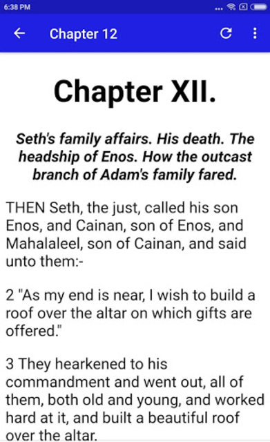 THE SECOND BOOK OF ADAM AND EVE PRO screenshot 6