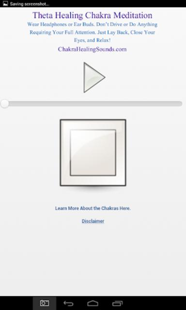 Theta Meditation Chakra Sound screenshot 8