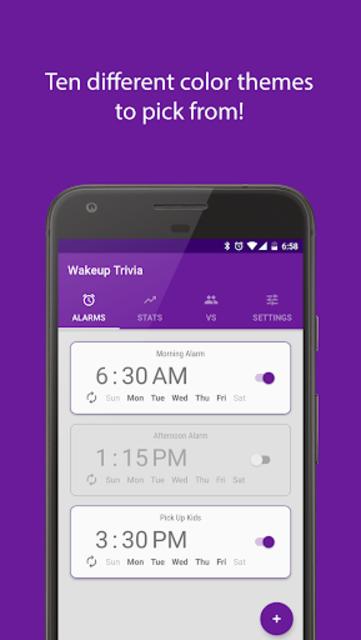 Wakeup Trivia Pro - Alarm Clock screenshot 6