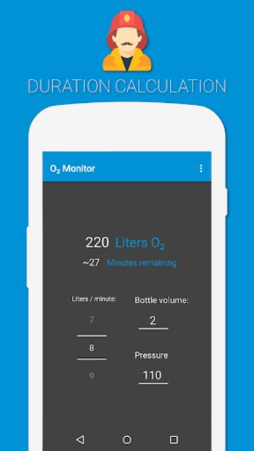 O2Monitor- Oxygen Calculator screenshot 2