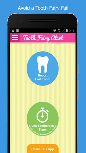 Tooth Fairy Alert screenshot 2