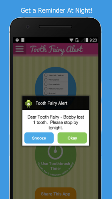 Tooth Fairy Alert screenshot 3