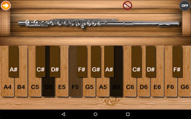 Professional Flute screenshot 1