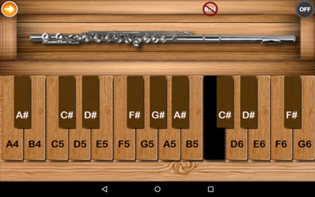 Professional Flute screenshot 2