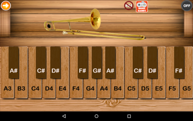 Professional Trombone screenshot 1