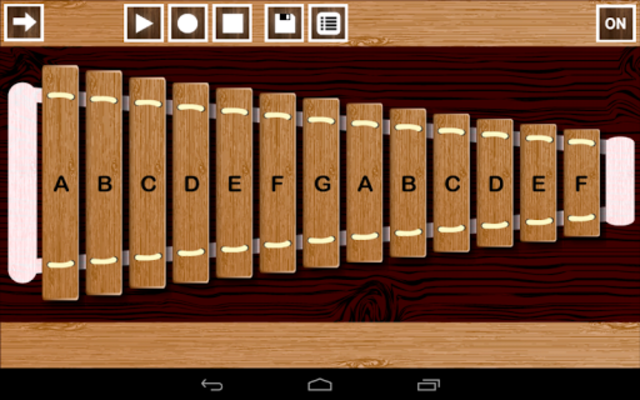 Toddlers Marimba Elite screenshot 1