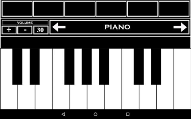Virtual Piano Keyboard screenshot 1
