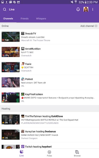 Twitch: Livestream Multiplayer Games & Esports screenshot 14