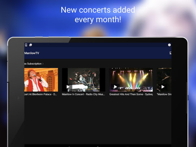 ManilowTV screenshot 7
