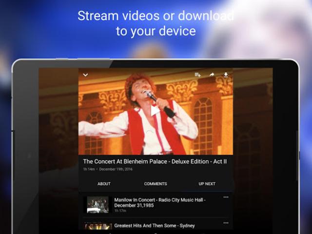ManilowTV screenshot 9