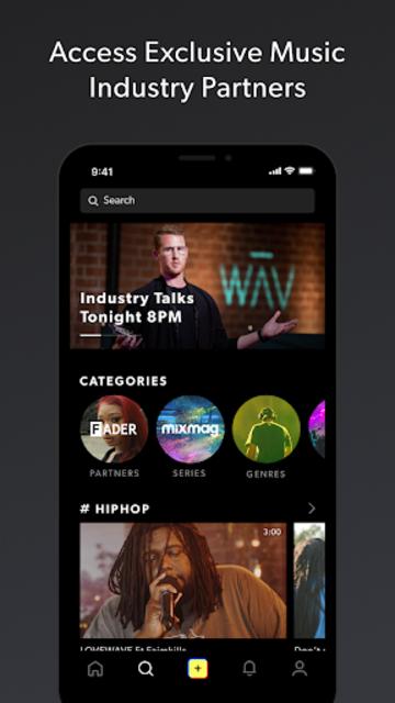 WAV - Music & Livestreams screenshot 5