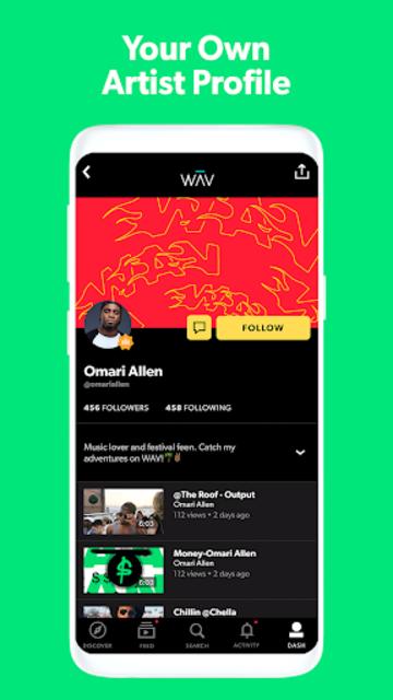 WAV - Music & Livestreams screenshot 1