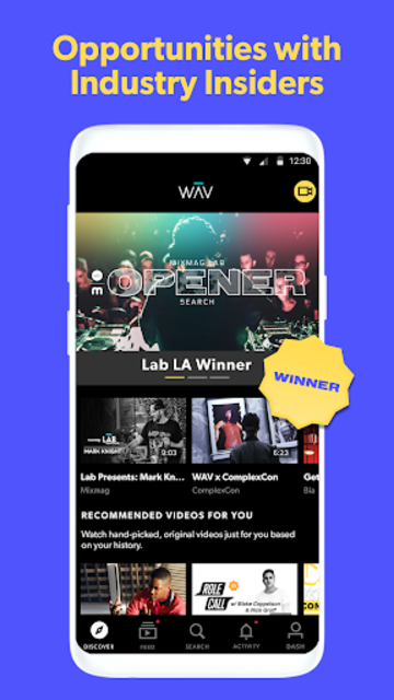 WAV - Music & Livestreams screenshot 3