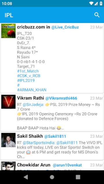 Lite for Twitter screenshot 1