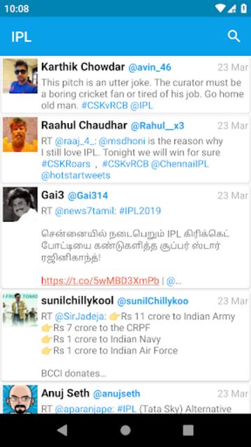 Lite for Twitter screenshot 2