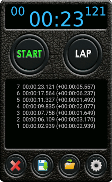 Stopwatch Pro screenshot 3
