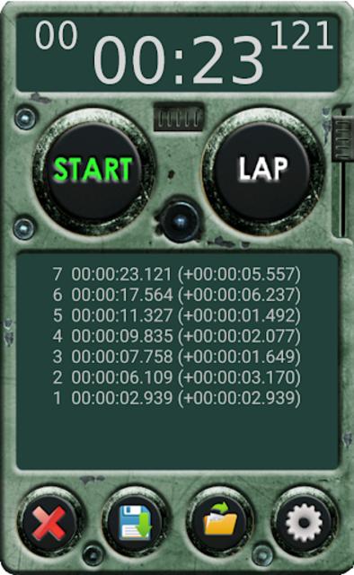 Stopwatch Pro screenshot 7