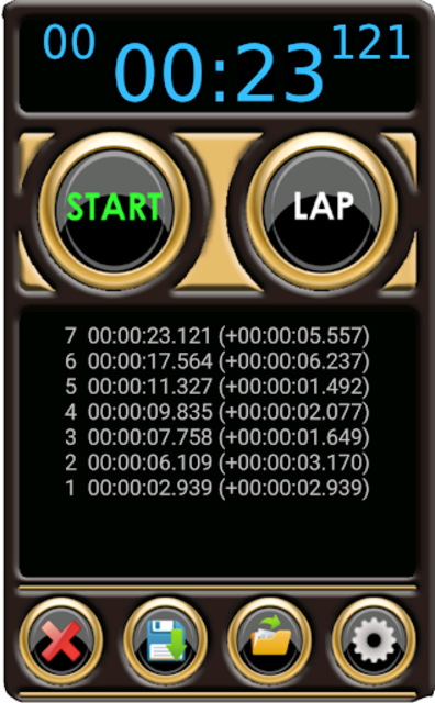 Stopwatch Pro screenshot 8