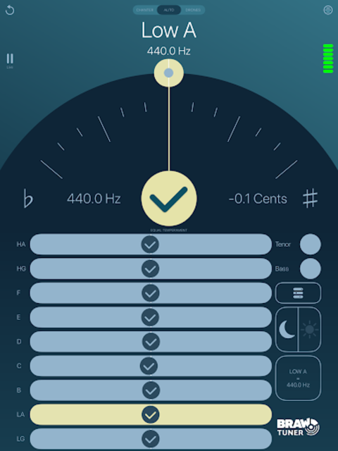Braw Bagpipe Tuner screenshot 6