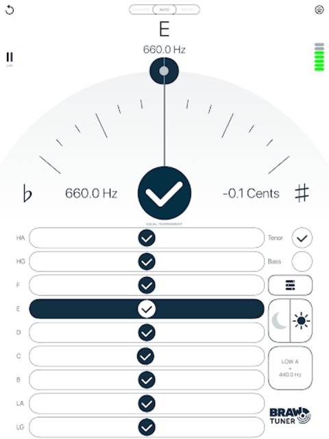 Braw Bagpipe Tuner screenshot 8