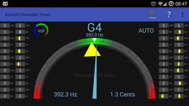 Accord Chromatic Tuner screenshot 3