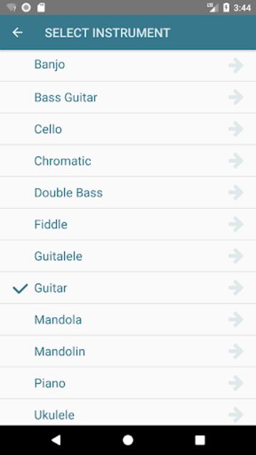 Accord Chromatic Tuner screenshot 17