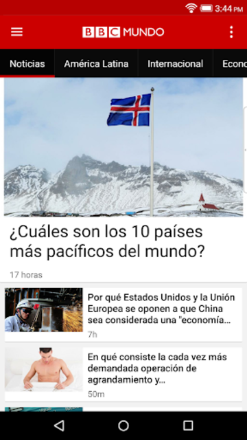 BBC Mundo screenshot 2