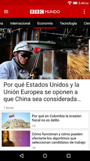 BBC Mundo screenshot 4