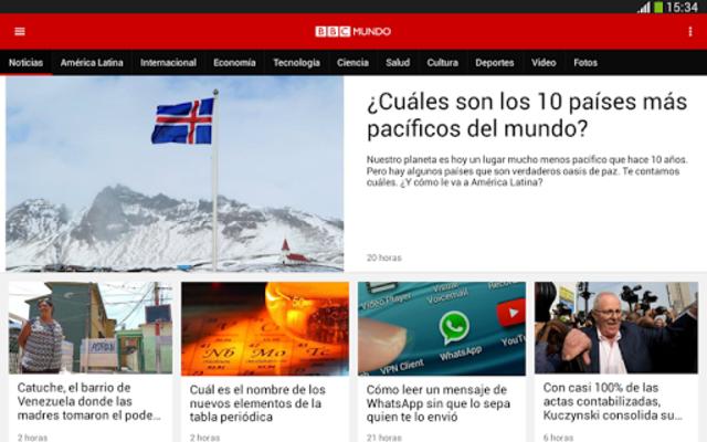 BBC Mundo screenshot 13