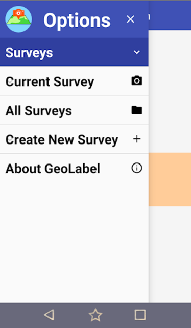 GeoLabel - GPS Photo Surveys for Android screenshot 5