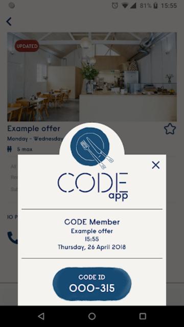 CODE app screenshot 5