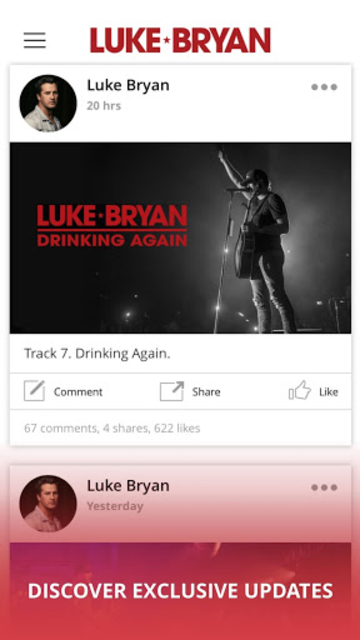 Luke Bryan screenshot 2