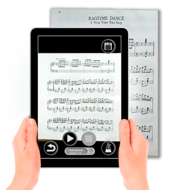 PlayScore Pro - Full notation sheet music scanner screenshot 1