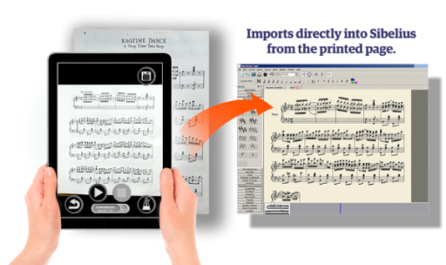 PlayScore Pro - Full notation sheet music scanner screenshot 4