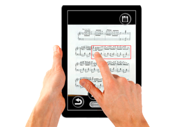 PlayScore Pro - Full notation sheet music scanner screenshot 6