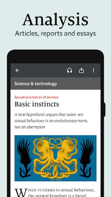 The Economist (Legacy) screenshot 6