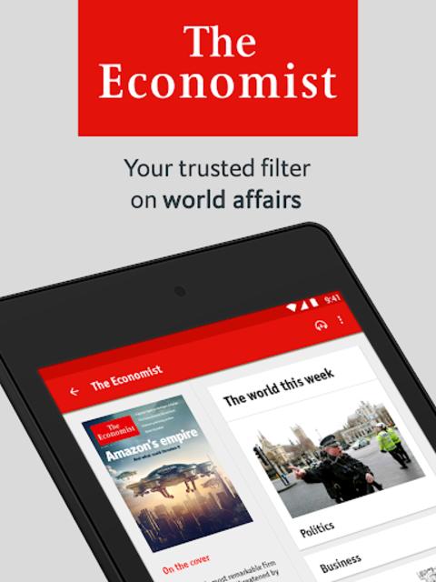 The Economist (Legacy) screenshot 9