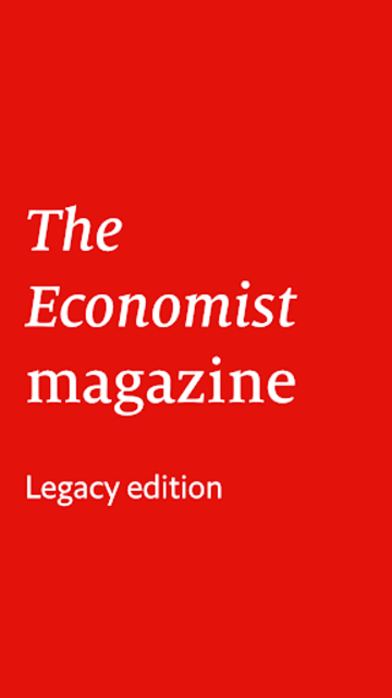 The Economist (Legacy) screenshot 1
