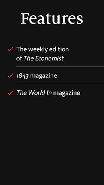 The Economist (Legacy) screenshot 5