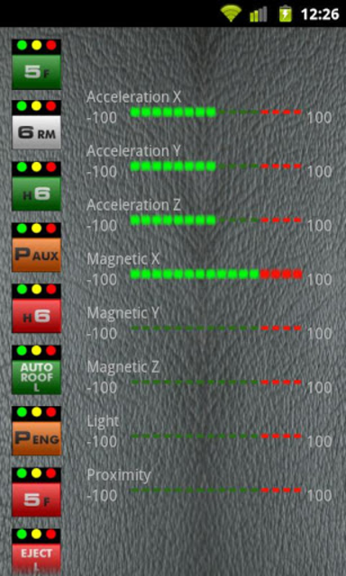 E.R.I.C.A Speedometer screenshot 4