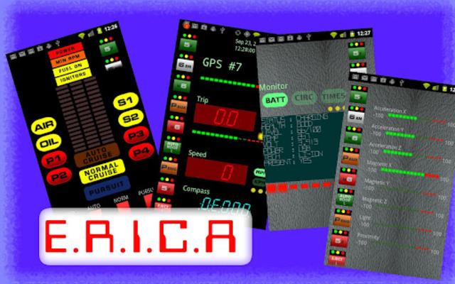 E.R.I.C.A Speedometer screenshot 1
