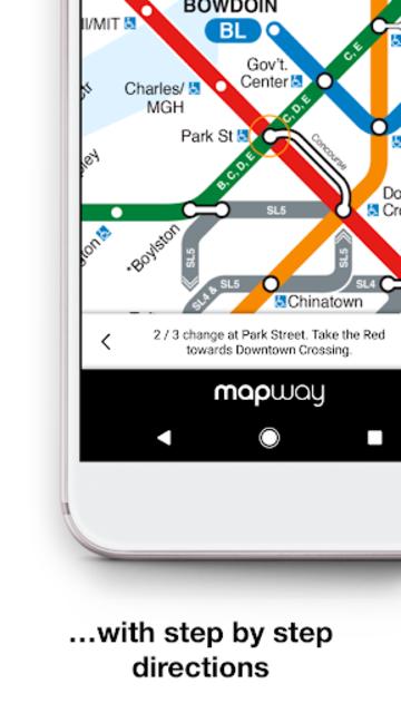 Boston T - MBTA Subway Map and Route Planner screenshot 3