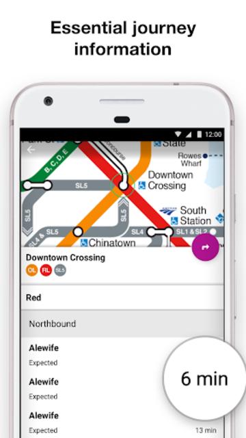 Boston T - MBTA Subway Map and Route Planner screenshot 5